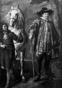 Hendrik van Halmale with his Horse and Groom