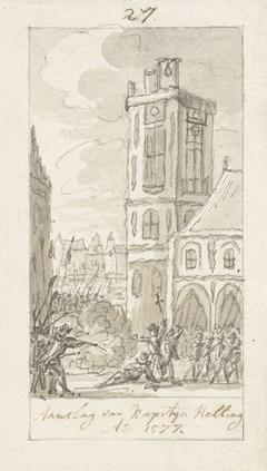 Het sneuvelen van Kapitein Herman Helling, 23 november 1577