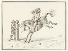 Het temmen van een paard