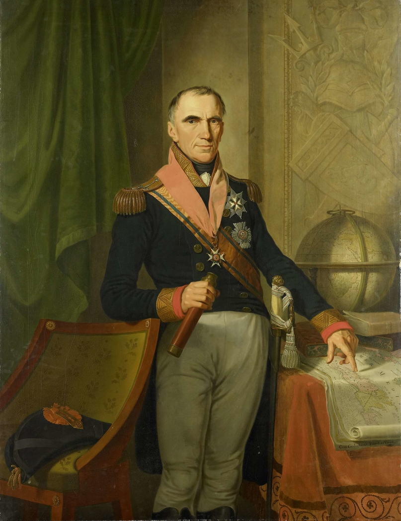 Jonkheer Theodorus Frederik van Capellen (1762-1824), Vice Admiral