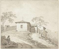 Kerkje of klooster bij Bologna