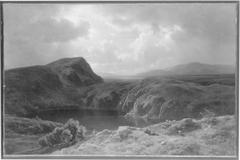 Kratersee im schottischen Hochland