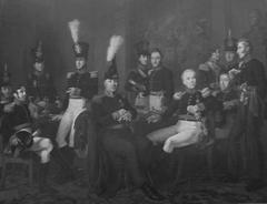 Krijgsraad der schutterij te Amsterdam in het jaar 1826