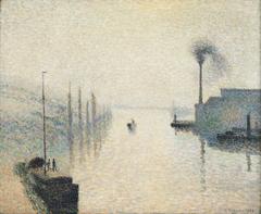 L'Île Lacroix, Rouen (The Effect of Fog)