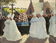 La procession de la Fête-Dieu à Landudec