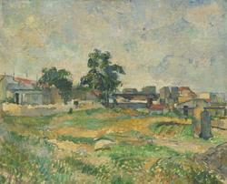 Landscape near Paris