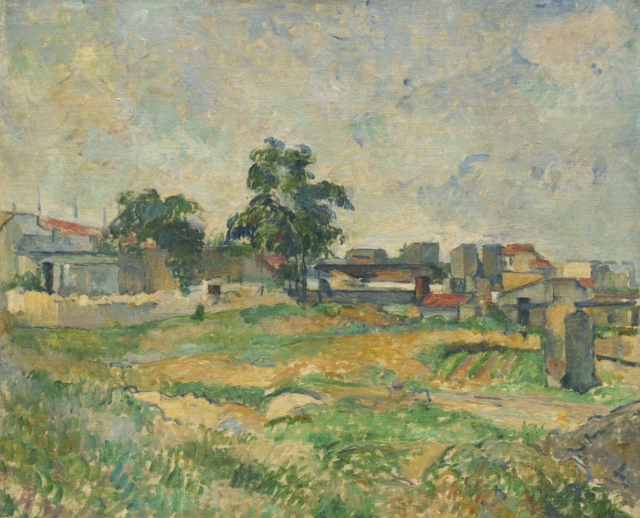 Landscape near Paris