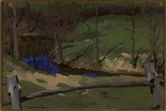 Landscape study in Bohdanów