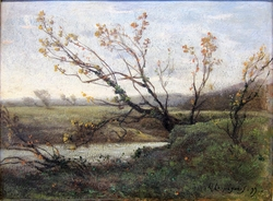 Landscape with a Pond