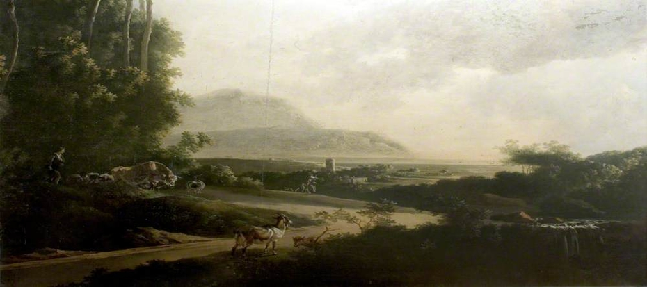 Landscape with a Winding Roadway