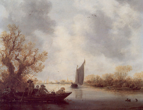 Landscape with Anglers