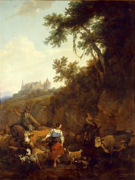 Landscape with Castle Bentheim