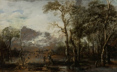 Landscape with Hunter