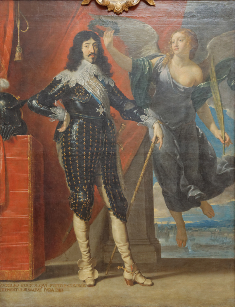Louis XIII Crowned by Victory