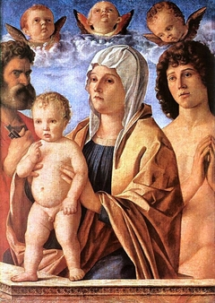 Madonna and Child with St. Peter and St. Sebastian
