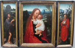 Madonna with John the Baptist and Saint Jerome