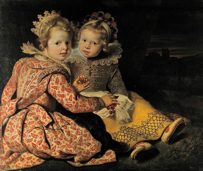 Magdalena (born 1618) and Jan-Baptiste de Vos (born 1619), the Children of the Painter