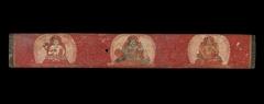 Manuscript Cover with Vishnu Flanked by Lakshmi and Sarasvati