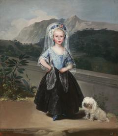 María Teresa de Borbón y Vallabriga, later Condesa de Chinchón