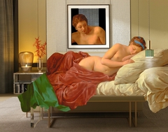 ''Mars and Venus'' A tribute to Jean Francois Lagrenee