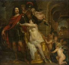 Mars Receives the Weapons from Venus and Vulcan: Allegory