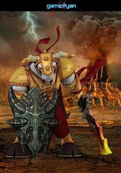 Minotorc Warrior Character Modeling