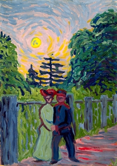 Moonrise: Soldier and Maiden