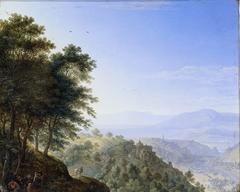 Mountainous landscape near Boppard aan de Rijn