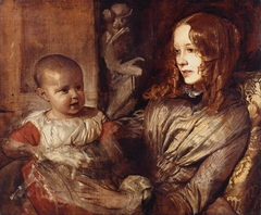 Mrs Elizabeth Young Mitchell and her Baby