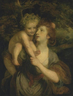 Mrs Hartley as a Nymph with a Young Bacchus