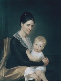 Mrs. Marinus Willett and Her Son Marinus, Jr.