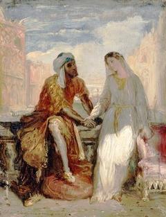 Othello and Desdemona in Venice
