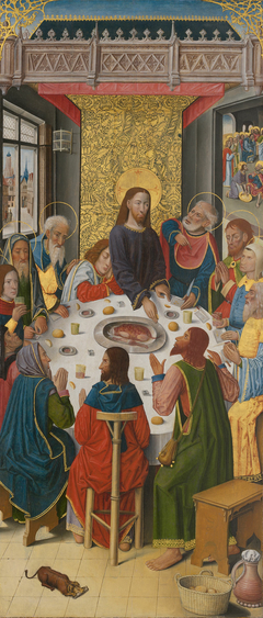 Panels from the High Altar of the Charterhouse of Saint-Honoré, Thuison-les-Abbeville: The Last Supper