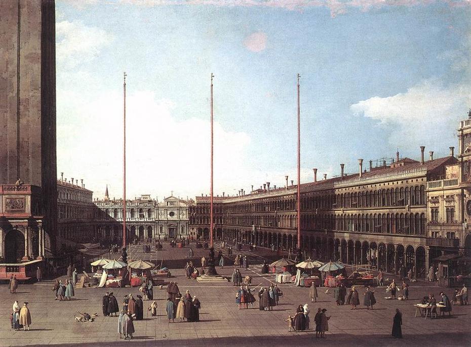 Piazza San Marco, Looking toward San Geminiano