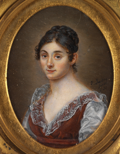 Portrait Bust of a Young Woman