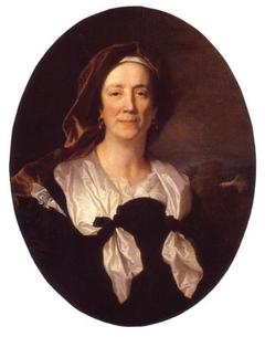 Portrait de Maria Serra, mère de Hyacinthe Rigaud
