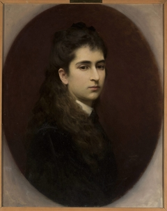 Portrait of a girl with loose hair