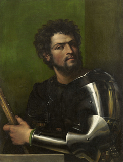 Portrait of a Man in Armor