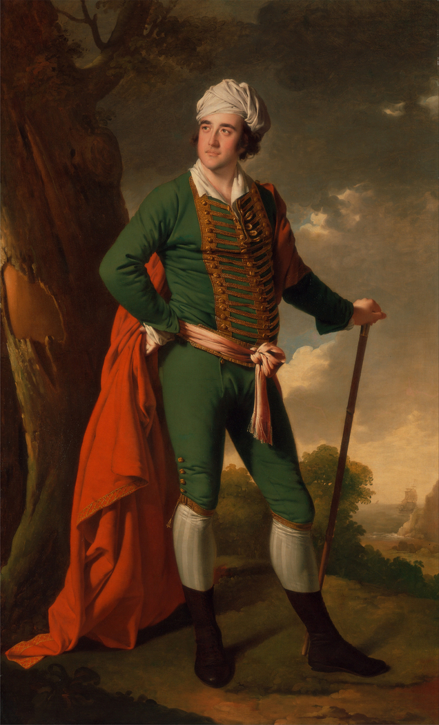 """Portrait of a Man, Known as the """"Indian Captain"""""""