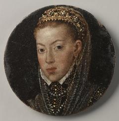 Portrait of a Spanish Infanta (María or Juana of Austria)
