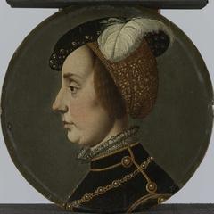 Portrait of Anna of Lorraine, Consort of René de Châlon, Prince of Orange