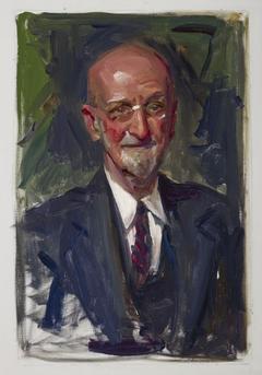 Portrait of Anton Scherrer