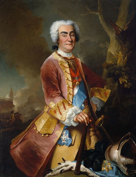 Portrait of Augustus II the Strong.