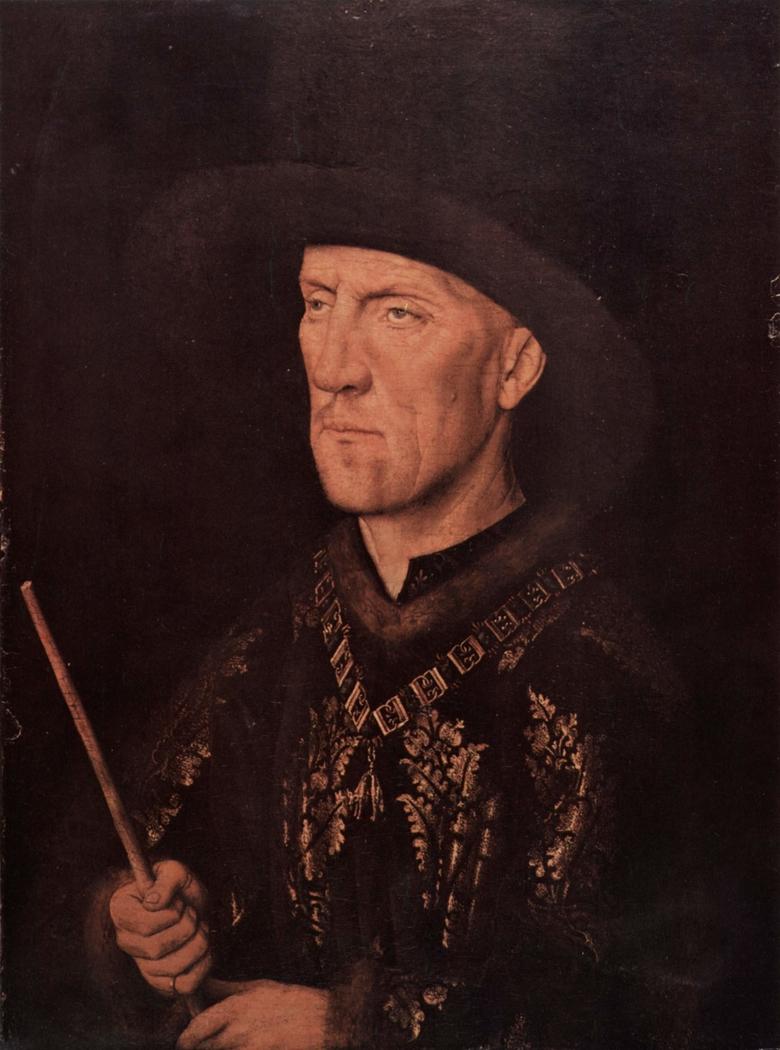 Portrait of Baudouin de Lannoy