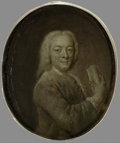 Portrait of Bernardus de Bosch I (1709-1786), Poet, Art Patron and husband of Margaretha van Leuvenigh in Amsterdam
