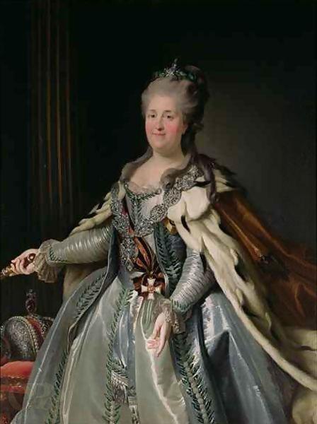 Portrait of Catherine II.