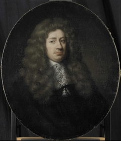 Portrait of Dominicus Rosmale, Director of the Rotterdam Chamber of the Dutch East India Company, elected 1677