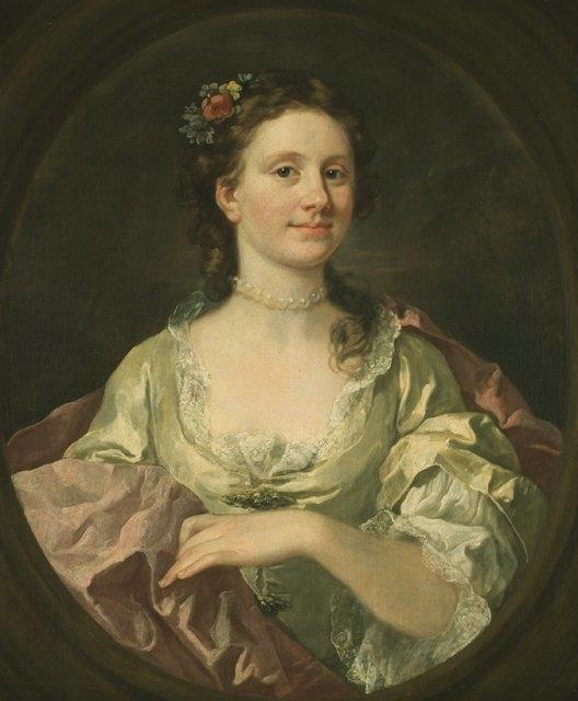 Portrait of Elizabeth James (Mrs. William James)
