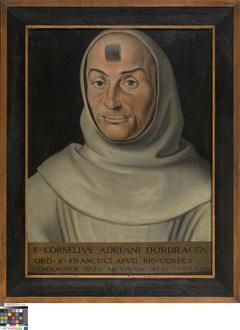 Portrait of Friar Corneille Adriaensz. de Dordrecht