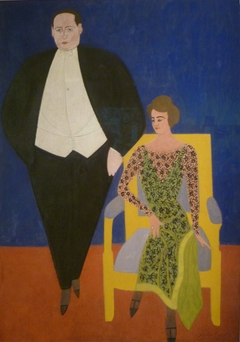 Portrait of Gustave en Norine Van Hecke